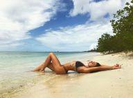 Isis Valverde, de biquíni, curte férias em Aruba após novela: 'Sal e sol'. Vídeo