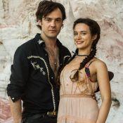 Sergio Guizé nega romance com Bianca Bin fora de novela: 'Parceria profissional'