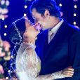 Bianca Bin e Sergio Guize vivem um casal conturbado na novela 'O Outro Lado do Paraíso'