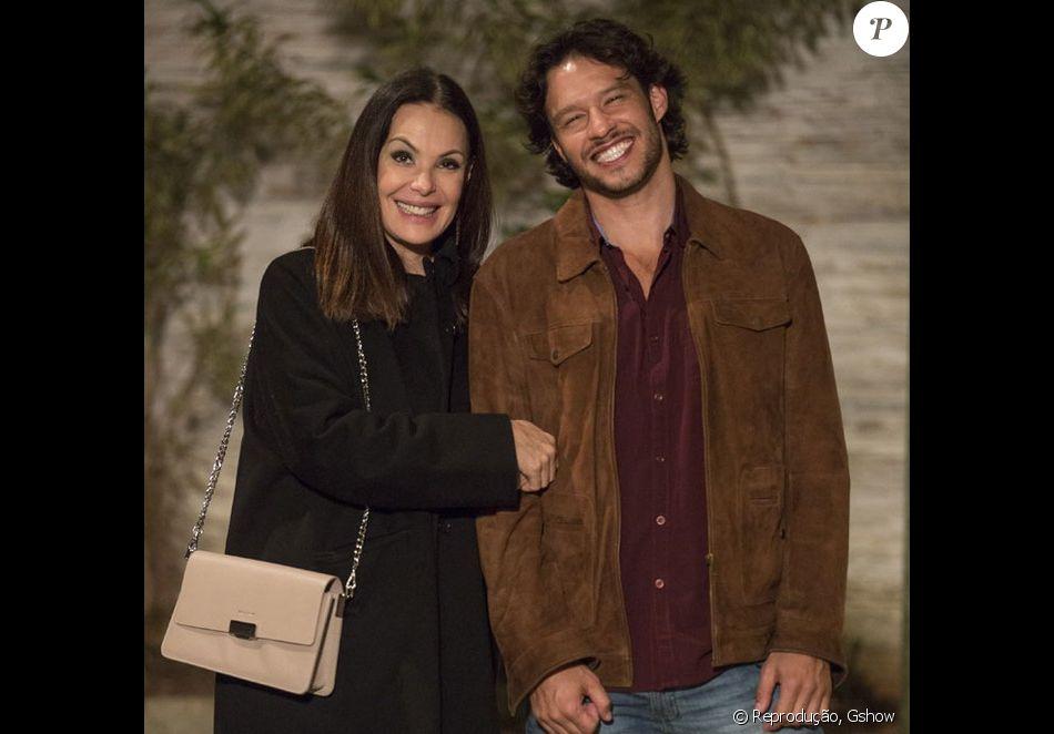 Última novela de Carolina Ferraz na Globo foi 'Haja Coração