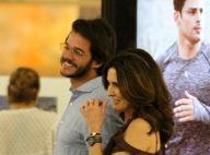 Fátima Bernardes se declara ao namorado com letra de música: 'Sonho acontecer'