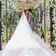 Durante a festa de casamento, Marina Ruy Barbosa e Xadinho Negrão cantaram um para o outro a música 'Eu me Lembro', de Clarice Falcão