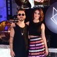 Junior Lima e Monica Benini  comemoraram três anos de casamento