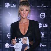 Paolla Oliveira, eleita mais sexy, exibe franja em lançamento de revista. Fotos!
