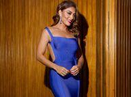 Juliana Paes leva decote das costas ao limite com look de R$ 732 em pré-estreia