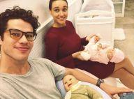 Débora Nascimento, grávida, e José Loreto aprendem primeiros socorros de bebês