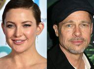 Kate Hudson nega rumor de namoro com Brad Pitt, mas admite: 'Eu acabei gostando'