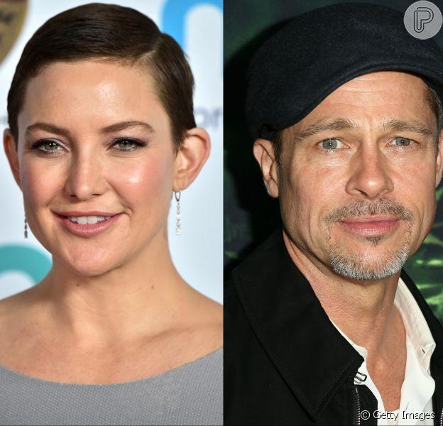 Kate Hudson negou os rumores de namoro com Brad Pitt: 'Foi o rumor mais maluco de todos os tempos'
