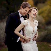 Edson Celulari e Karin Roepke postam fotos do casamento na Itália: 'Merecíamos'