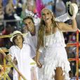 Ivete Sangalo e Daniel Cady são pais de Marcelo, de 8 anos, e esperam filhas gêmeas