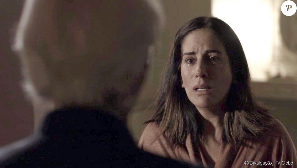 Duda (Gloria Pires) vai sobreviver à armação de Natanael (Juca de Oliveira) para tirar sua vida no capítulo que vai ao ar segunda-feira, dia 13 de novembro de 2017, na novela 'O Outro Lado do Paraíso'