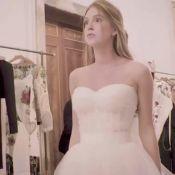 Marina Ruy Barbosa, vestida de noiva, ganha elogio de Marquezine: 'Quase chorei'
