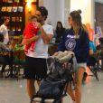 Rafa Brites e Felipe Andreoli são pais de Rocco, de 9 meses