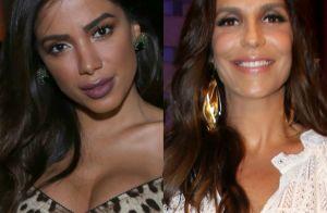 Anitta nega ter recusado comercial com Ivete Sangalo e ironiza: 'Surto'
