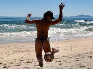 Juliana Paes mostra habilidade com bola e web vibra com corpão: 'Bumbum lindo'