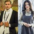 Na novela 'Tempo de Amar', Teodoro (Henri Castelli) sequestrará Maria Vitória (Vitória Strada), no capítulo que vai ao ar no sábado, 25 de novembro de 2017