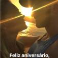 Namorado de Ellen Rocche ganhou uma declaração da atriz em seu aniversário nesta terça-feira, 14 de novembro de 2017