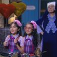 Bárbara (Renata Randel) e Frida (Sienna Belle) se desesperam ao sonhar que estão pedindo desculpas para Madre Superiora (Eliana Guttman) e ela as expulsa do colégio, no capítulo que vai ao ar segunda-feira, dia 20 de novembro de 2017, na novela 'Carinha de Anjo'