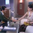 Cecília (Bia Arantes) conversa com André (Bruno Lopes) e conta a verdade sobre seus sentimentos por Gustavo e o que a motivou a terminar o namoro, no capítulo que vai ao ar quinta-feira, dia 23 de novembro de 2017, na novela 'Carinha de Anjo'