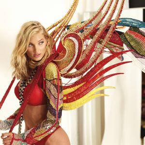 Elsa Hosk. Foto do site da Pure People que mostra Victoria´s Secret Fashion Show: Elsa Hosk usará asa de 6,5kg e 275 mil diamantes