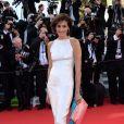 Ines de la Fressange veste Chanel no tapete vermelho do Festival de Cannes 2014