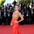 Sarah Barzyk veste  Christophe Guillarmé no  tapete vermelho do Festival de Cannes 2014