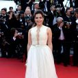 America Ferrera veste George Hobeikas no tapete vermelho do Festival de Cannes 2014