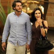 Namorado mostra foto abraçado a Fátima Bernardes em mangue: 'Aquela parceira'
