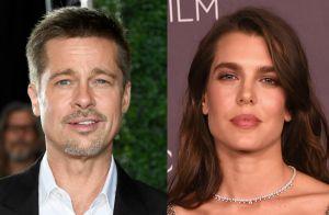 Brad Pitt não está namorando princesa Charlotte de Mônaco. 'Falso', afirma fonte