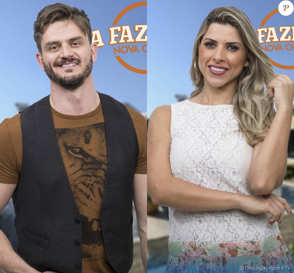 Em 'A Fazenda', Marcos Härter avaliou affair com Ana Paula Minerato. ' Não considero nem que foi um casal', disparou