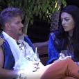 Marcos Härter falou sobre Ana Paula Minerato durante conversa com Monique Amin, em festa de 'A Fazenda', na madrugada deste sábado, 18 de novembro de 2017