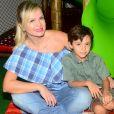 Além de Manuela, Eliana é mãe de Arthur, de 6 anos