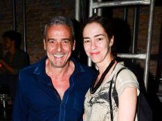 Alexandre Borges e produtora Tatiana Coelho, juntos há um ano, estão casados