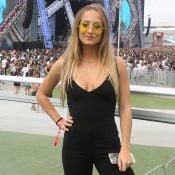 Bruna Griphao explica óculos de lente amarela em festival: 'Vibes Dua Lipa'