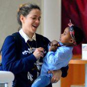 Leandra Leal destaca luta contra preconceito após filha, Julia: 'Criá-la forte'