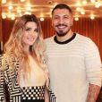 Fernando Medeiros e Aline Gotschalg anunciaram o fim do casamento de 2 anos no final de semana