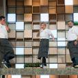 Pablo, Irina e Francisco se emocionaram com a saída de Raissa do 'MasterChef Profissionais'