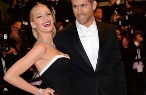 Blake Lively prestigia Ryan Reynolds em exibição de filme em Cannes 2014