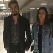 Luan Santana e namorada, Jade Magalhães, vão a show de Bruno Mars: 'Inspiração'