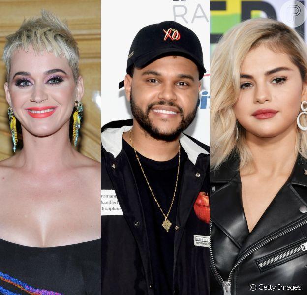 Katy Perry teria jantado com o rapper The Weeknd, ex de Selena Gomez, por vingança