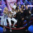 Simone e Simaria, Cláudia Leitte, Carlinhos Brown, André Marques e Thalita Rebouças formam o time de jurados e apresentadores do programa 'The Voice Kids'