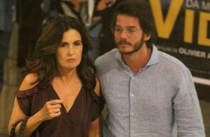 Namorado posta foto de viagem com Fátima Bernardes: 'Sonho leva para a frente'