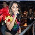 Lexa cantou na 17ª Parada do Orgulho LGBT, no domingo, 26 de novembro de 2017, em Madureira, Zona Norte do Rio