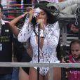 Ludmilla foi uma das atrações da 17ª Parada do Orgulho LGBT em Madureira, Zona Norte do Rio de Janeiro