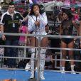 Ludmilla foi parar no hospital após se apresentar na 17ª edição da Parada LGBT em Madureira, Zona Norte do Rio de Janeiro, no domingo, 26 de novembro de 2017