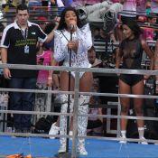 Ludmilla vai para hospital após show em Parada LGBT: 'Inflamação na garganta'