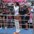 Ludmilla se apresentou na 17ª Parada do Orgulho LGBT em Madureira, Zona Norte do Rio de Janeiro