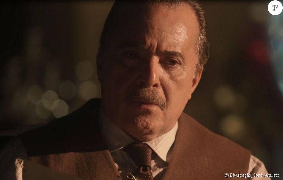 Após descobrir sobre o casamento, José Augusto (Tony Ramos) expulsa Fernão da Quinta, no capítulo que vai ao ar no dia 8 de dezembro de 2017, da novela 'Tempo de Amar'