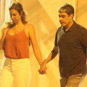 William Bonner exibe 1ª foto com a namorada, Natasha Dantas: 'Fica comigo?'