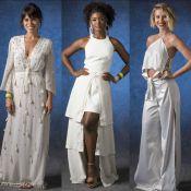 Famosas usam branco em especial de fim de ano. Inspire-se para o Réveillon!